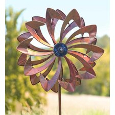 Solar Led Flower Spinner
