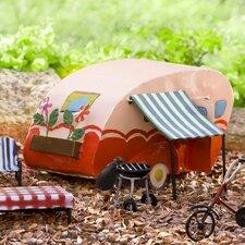 Fairy Garden Camper Statue