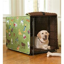 Doggone Good Time Dog Crate Cover