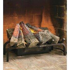 Electric Log Heater Set
