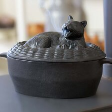 Yawning Cat Stove Steamer
