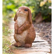 Lop Eared Bunny Rabbit Garden Statue
