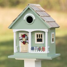 Spring Cottage Mounted Birdhouse