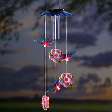Butterflies Solar Mobile Wind Chime