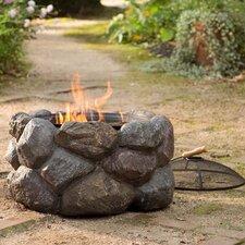 Faux Rock Fire Pit
