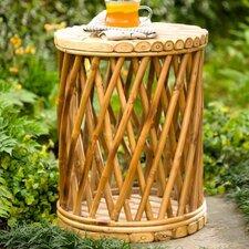 Bamboo Drum Garden Stool
