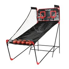 Double Shootout 4 Piece Basketball Game Set with Air Pump