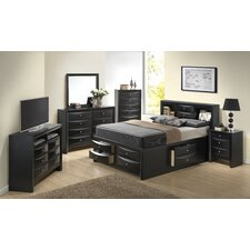 Storage Platform Customizable Bedroom Set