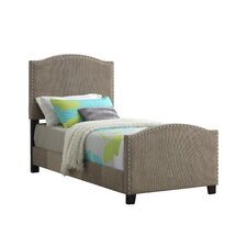 Sona Upholstered Panel Bed