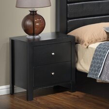 Aries 2 Drawer Night Stand