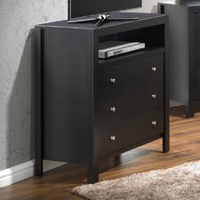 Aries 3 Drawer Media Chest
