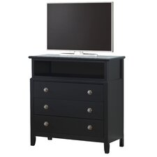 Houston 3 Drawer Media Chest