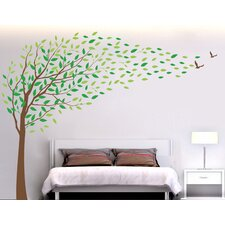 Flying in The Wind Wall Decal