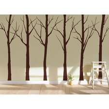 Winter Cool Tree Wall Decal