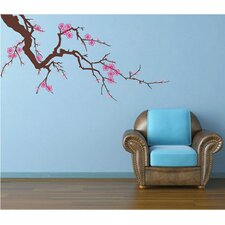 Beautiful Plum Blossom Wall Decal