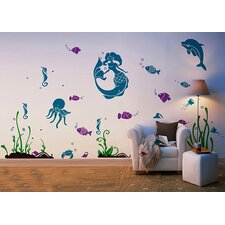 Sea World Removable Wall Decal