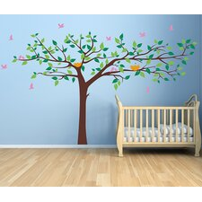 Colorful Super Big Tree Wall Decal