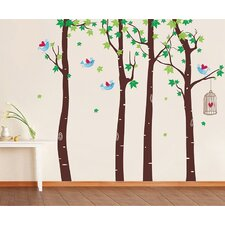 Maple Forest Wall Decal