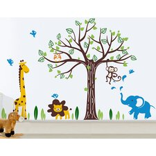 Happy Zoo Wall Decal