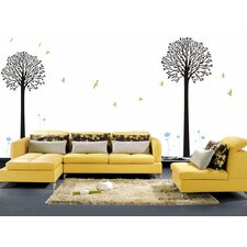 Two Big Cool Trees Wall Decal