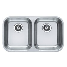 Alveus Duo 30  75.2cm x 44cm Kitchen Sink