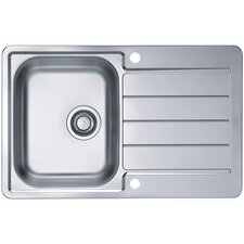 Alveus Line 80  79 cm x 50 cm Kitchen Sink