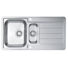 Alveus Line 10  98 cm x 50 cm Kitchen Sink