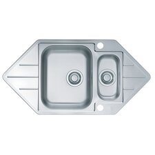 Alveus Line 40 98.5 cm x 50 cm Kitchen Sink