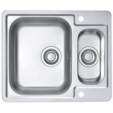 Alveus Line 50  61.5 cm x 50 cm Kitchen Sink