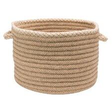 Houndstooth Natural Edge Basket
