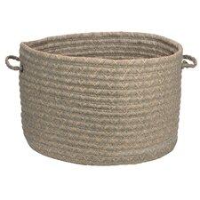 Solid Fabric Storage Basket