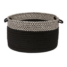 Houndstooth Dipped Basket