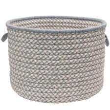 Soft Houndstooth Blends Utility Basket
