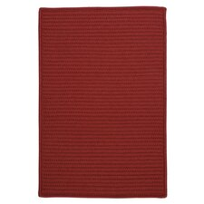 Simply Home Solid Red Area Rug