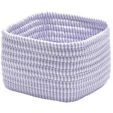 Ticking Shelf Square Basket