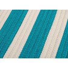 Stripe It Turquoise Sample Swatch