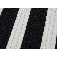 Stripe It Black White Sample Swatch