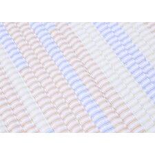 Ticking Stripe Rect Starlight Sample Swatch