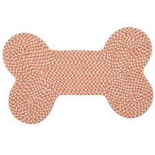 Dog Bone Houndstooth Bright Pet Mat