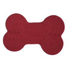 Dog Bone Solid Pet Mat