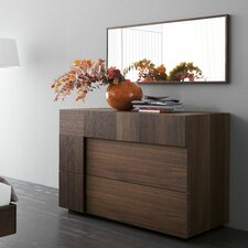 Air 2 Drawer Dresser with Mirror
