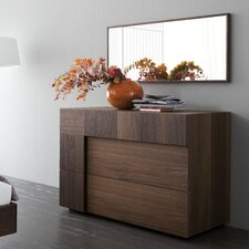 Air 2 Drawer Dresser with Mirror