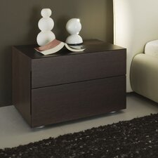New Pavo 2 Drawer Nightstand