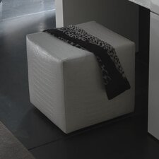 Nightfly Pouf Leather Ottoman