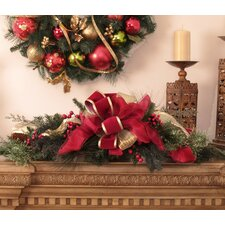 Pine and Berry Christmas Centerpiece
