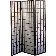 "70.5"" x 51"" Shoji Style 3 Panel Room Divider"
