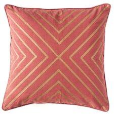 Drew Organic Cotton Throw Pillow