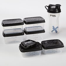 Jaxx Fuel 12-Piece Portion Control Container and Shaker Cup Set