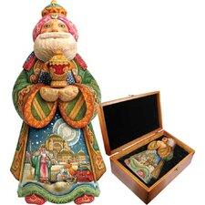 Derevo King Gaspar in Wooden Keepsake Box