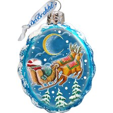 Keepsake Up, Up and Away Glass Ornament